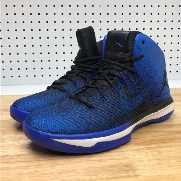 new product b2e4e 62b56 Nike Air Jordan XXXI 31 OG Game Royal Blue Black